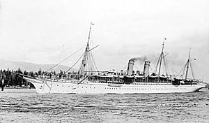Rms Empress Of Japan 1890 Wikipedia
