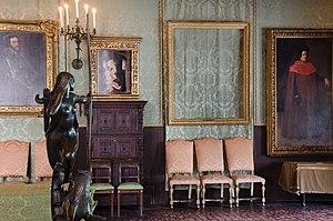 Isabella Stewart Gardner Museum theft - Image: Empty Frames at Isabella Stewart Gardner Museum
