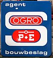 Enamel advertising sign, OGRO bouwbeslag.JPG