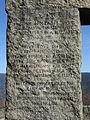 Engländerdenkmal am Schauinsland, Inschrift in Englisch.jpg