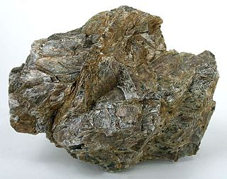 Enstatite pyroxene mineral
