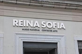 Entrada museo Reina Sofia