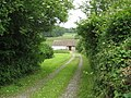 Entrance to Greenacre smallholding on Norton's Wood Lane - geograph.org.uk - 1361257.jpg