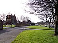 Entrance to The Derby Mills on Muirhead Avenue East - geograph.org.uk - 2262415.jpg