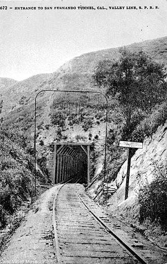 Newhall Pass - San Fernando Tunnel c.1900