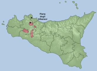 Eparchy of Piana degli Albanesi - Image: Eparchia di Piana degli Albanesi