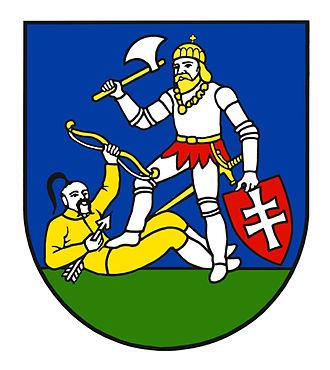 Regions of Slovakia - Image: Erb Nitrianskeho samosprávneho kraja