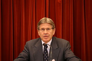 Erik Keiserud, Norwegian jurist, chairman of T...