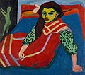 Ernst Ludwig Kirchner - Seated Girl (Fränzi Fehrmann) - Google Art Project.jpg