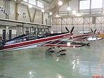 Esquadrilha da Fumaça 60 anos - Pirassununga - Aviões da Escuadrilla de Alta Acrobacia Halcones - Modelo Extra 300L da Força Aérea do Chile - panoramio.jpg
