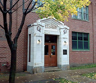 Essanay Studios - The Essanay Film Manufacturing Company building, at 1345 W. Argyle St, is a Chicago Landmark in Uptown.