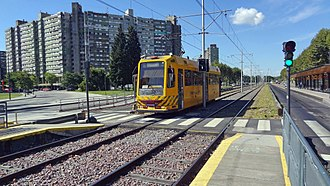 Materfer - Tram made for the Buenos Aires PreMetro.