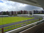 Universidad Nacional de Colombia. Estadio Alfonso López e Instituto de Educación Física
