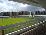 Estadio Alfonso López Pumarejo en Bogotá.