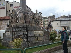 Juan Yagüe - Monument to Juan Yagüe