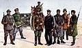 Estonian soldier types during the Estonian War of Independence 2 by O. Sädek.jpg