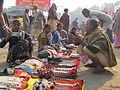 Ethnic Ornaments Trading - Gangasagar Fair Transit Camp - Kolkata 2012-01-14 0718.JPG