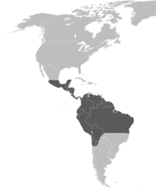 Eulaema Meriana distribution map 2.png