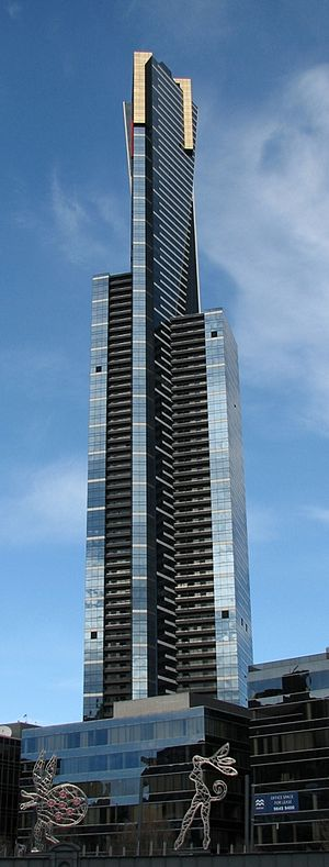 Fender Katsalidis Architects - Eureka Tower, Melbourne
