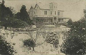 Mount Lofty - Snow at Eurilla in 1905