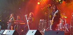 Europe performing in Lakselv, Norway 2008.
