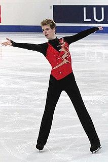 Stéphane Walker Swiss figure skater
