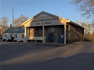 Eva, Tennessee - Eva post office