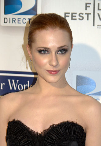 Evan Rachel Wood - Wood in April 2009 at the premiere of Whatever Works