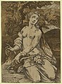 Eve after the Fall - Mecarino inventore, Anda. intagliat(o)re Mant(ua)no. LCCN2008678776.jpg