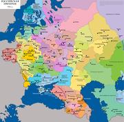 Evropayskye gubernii Rossii 1910