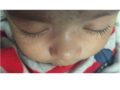 Eyelashes of a 2-month-old baby boy.png