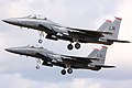 F15 Eagles - RAF Lakenheath July 2009 (3717334204).jpg