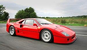 Ferrari F40 - Image: F40 Ferrari 20090509