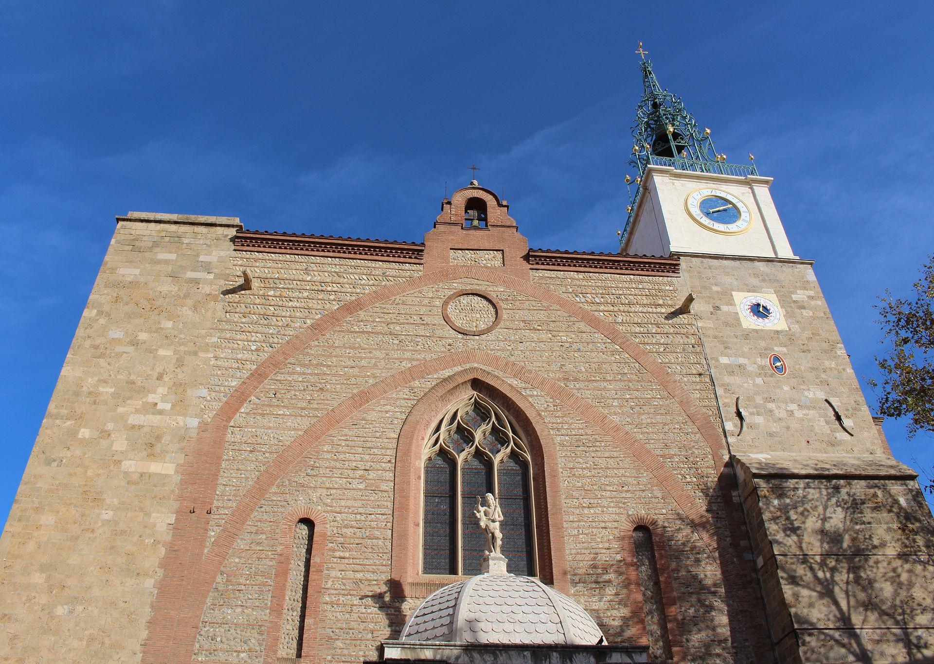 Cath Drale Saint Jean Baptiste De Perpignan Wikip Dia