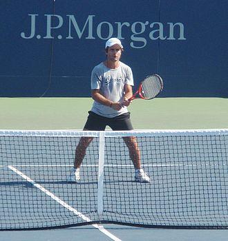 Fabrice Santoro - Fabrice Santoro Volleys at US Open