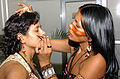 Face painting at the 1st National Conference for indigenous peoples in Brazil.jpg