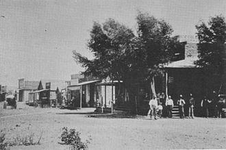 Fairbank, Arizona - Image: Fairbank year 1890
