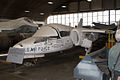 Fairchild-Republic T-46 Eaglet LFrontSide Restoration NMUSAF 25Sep09 (14600389905).jpg