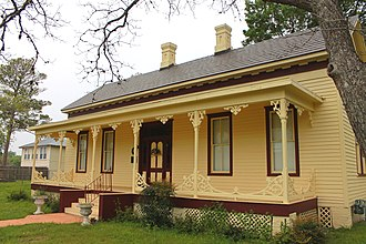 National Register of Historic Places listings in Fayette County, Texas - Image: Faisonhouse 2