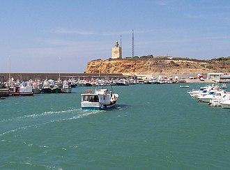 Conil de la Frontera - Port and lighthouse of Roche.