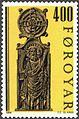 Faroe stamp 090 pew ends from kirkjubour - st judas thaddeus.jpg
