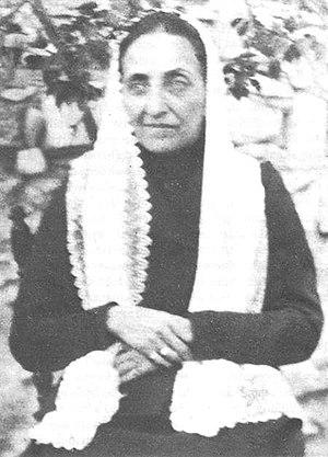 """Bahiyyih Khánum - Bahíyyih, known as """"the Greatest Holy Leaf""""."""