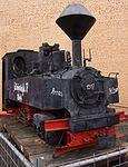 Feldbahnlokomotive im Technik Museum Speyer.JPG