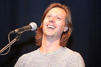 Felix Van Groeningen - Felix Van Groeningen at the Karlovy Vary International Film Festival in July 2016.
