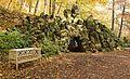 Felsengang - Grotte im Grünfelder Park...IMG 0691WI2.jpg