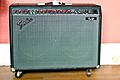 """Fender Pro 185 solid state amp, 2x12""""(early-1990s) built in Oswego, Oregon.jpg"""