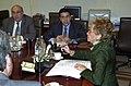 Fernández de la Vega preside la comisión general de secretarios de Estado y subsecretarios. Pool Moncloa. 28 de noviembre de 2006.jpeg