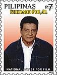 Fernando Poe Jr 2010 stamp of the Philippines.jpg