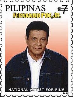 Fernando Poe Jr. Filipino actor, director and politician