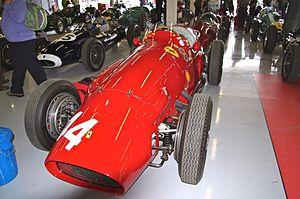 1958 Australian Grand Prix - Lex Davison won the race driving a Ferrari similar to that pictured above